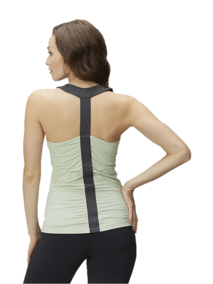 Zobha Activewear Grace Tank Top Frosty Green