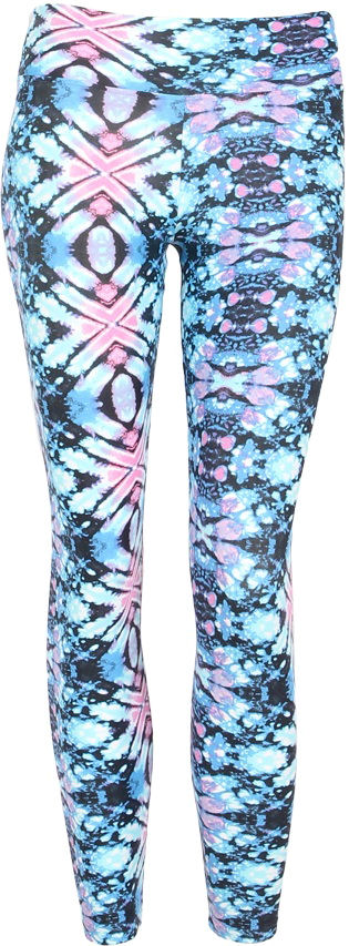 Liquido Legging ~ Cosmic Ice Pattern