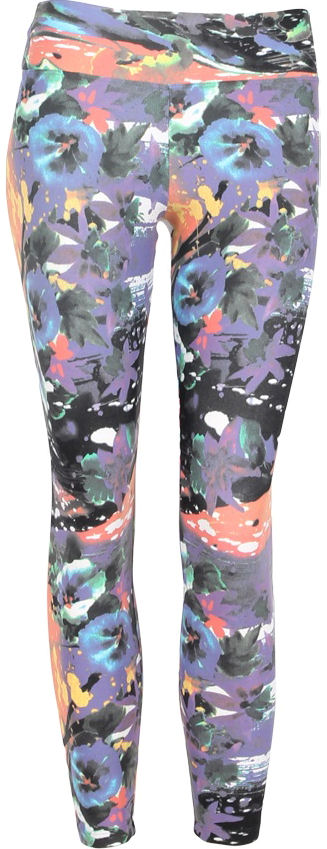 Liquido Legging ~ Morning Glory Pattern