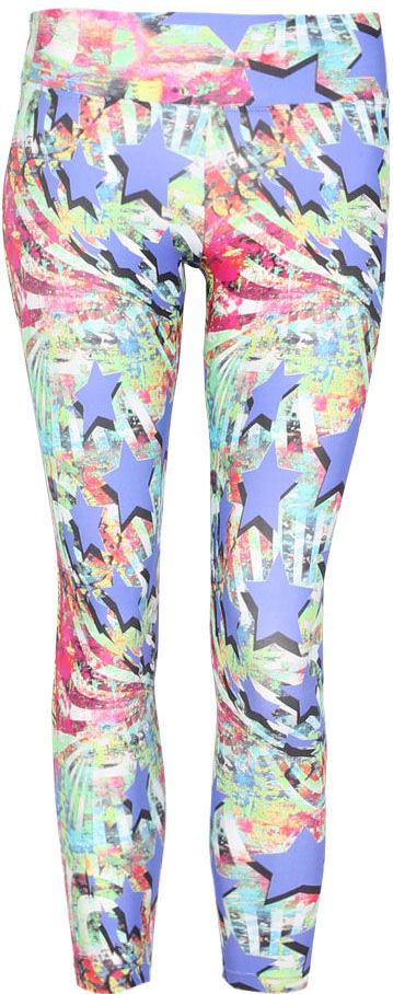 Liquido Legging ~ Rock Star Purple Pattern