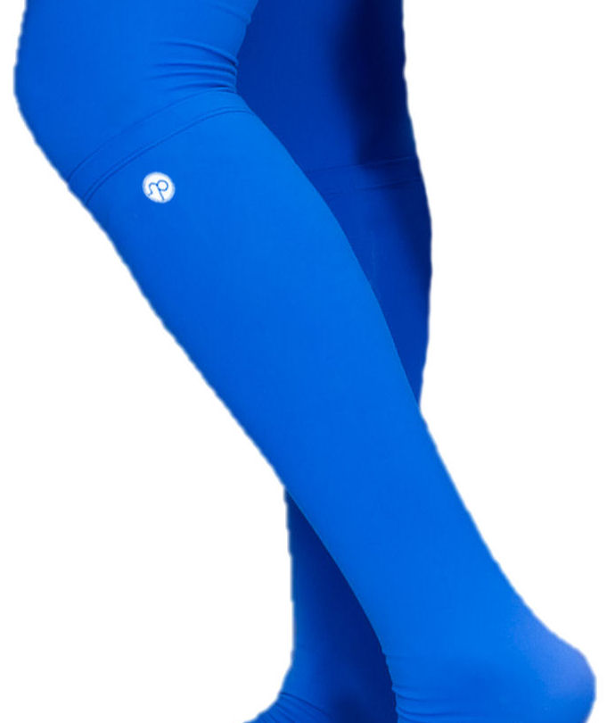 Nicepipes | Leg Warmers | Knee High | Royal Blue