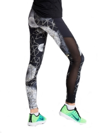 Nualime Twisted Floral Masterpiece Legging