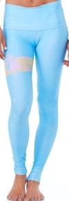 Teeki Rainbow Priestess Blue Hot Pant
