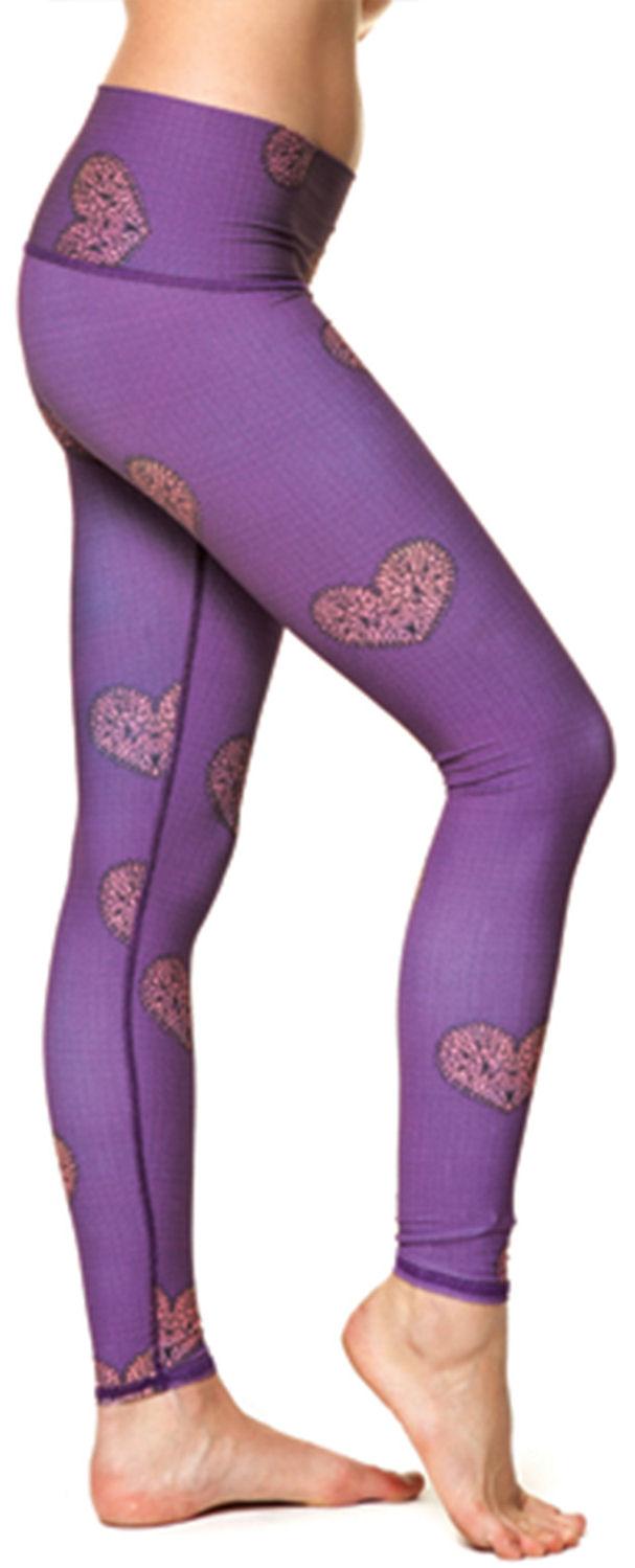 Teeki Wanderlove Purple Hot Pant